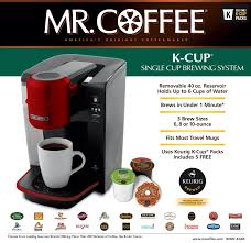 Mr Coffee KG6 001 Kcups