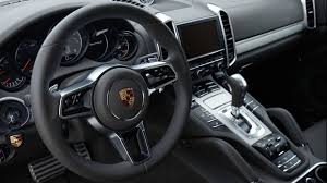 Porsche Cayenne S 2015 Interior
