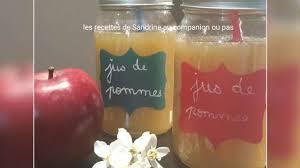 jus de pommes fait maison sans centrifugeuse recette par