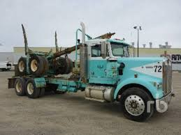 100 Used Log Trucks For Sale Summary Kenworth W900 Ging 10 Listings
