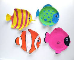 Easy Paper Plate Fish Craft For Kids Fun Party Craf On Valentines Crafts