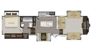 Jayco 2014 Fifth Wheel Floor Plans by 2018 Keystone Alpine 3661fl Model