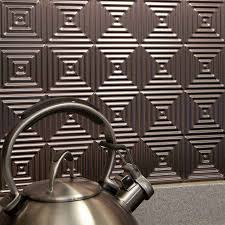 Fasade Thermoplastic Ceiling Tiles by Kitchen Backsplash Tiles Fasade Backsplash Tin Backsplash Lowes