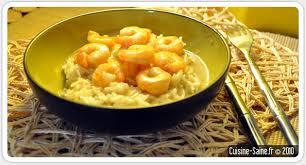 recette de cuisine saine recette sans gluten gambas au lait de coco cuisine saine
