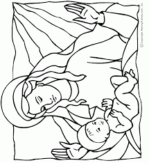 Baby Jesus Coloring Pages 265