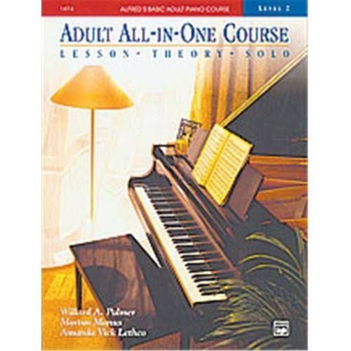 Alfred's Basic Adult All In One Piano Course Music Book - Level 2