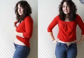 the rubberband maternity trick diy maternity