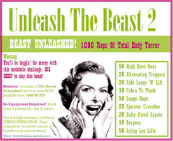 Unleash The BEAST 2 BEAST UNLEASHED 1000 Reps Total Body