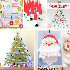 13 Free Printable Christmas Advent Calendars For Kids Easy To Make Homemade