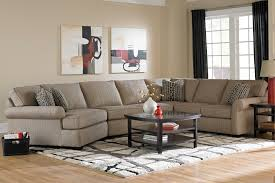 broyhill furniture ethan transitional sectional sofa with left