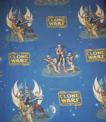 Bed Sheet Material by Vintage Star Wars