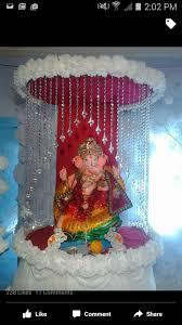 Varalakshmi Vratham Decoration Ideas Usa by Ganpati Decor Pooja Decor Pinterest Decoration Craft And