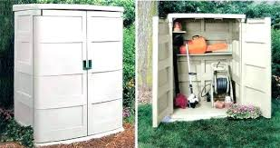 Backyard Storage Units Outdoor Storage Plastic Plastic Outdoor