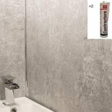 grau kleber plus beton deckenverkleidung platten badezimmer