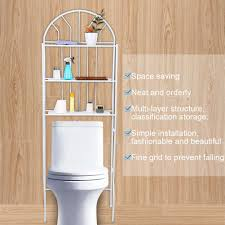 62 33 5 cm toilettenregal 3 tier weiß multifunktional wc