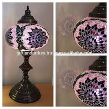 Fillable Craft Table Lamp by Crackle Glass Table Lamps Crackle Glass Table Lamps Suppliers And