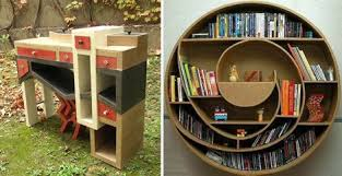 Make Your Own Cardboard Furniture TreeHugger