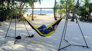 The Ultimate Portable Hammock Stand Hammock Anywhere by Bryan