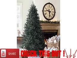 Balsam Hill Premium Artificial Christmas Trees by 75 Balsam Hill Blue Spruce Artificial Christmas Tree Unlit Youtube