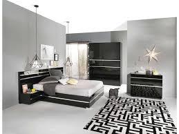 chambre a coucher complete conforama lit adulte 140 190 cm glass coloris noir vente de chambre a coucher