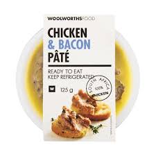 chicken bacon pâté 125g woolworths co za