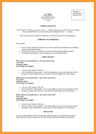 Resume Objective Statements Examples Awesome 10 Career Objectives