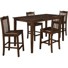 5 Piece Counter Height Dining Room Sets by Better Homes And Gardens 5 Piece Counter Height Dining Set Dark
