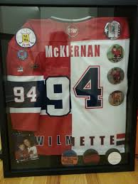 Shadow Box From Hobby Lobby Makes A Wonderful Keepsake For His Home Away Jerseys