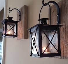 rustic lantern wall sconce wall sconces walls and living rooms