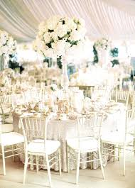 Elegant Wedding Decor An All White Truly Timeless Decorations On A Budget Uk