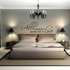 Bedroom Wall Decals Ideas Contemporary Using Chic Decorative