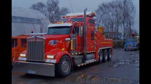 KENWORTH W900L WRECKER HEAVY RECOVERY TOW TRUCK - YouTube