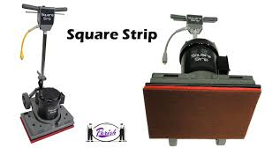 Clarke Floor Buffer Pads by Square Strip Oscillating Floor Machine For Dry Floor Stripping