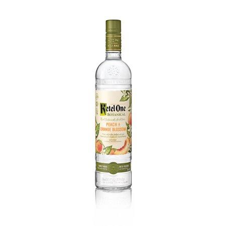 Ketel One Vodka, Peach & Orange Blossom - 750 ml