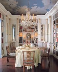 Would You Consider A Library Dining Room In Your Home