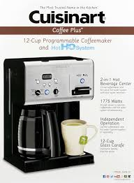 Cuisinart Blue Coffee Maker Plus Cup Programmable Coffeemaker And With Com Dcc