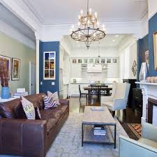 Brown Leather Sofa Living Room Ideas by Living Room Fascinating Blue Living Room Ideas Gray Blue Living