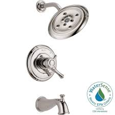 Delta Cassidy Bathroom Faucet Venetian Bronze by Delta Cassidy 1 Handle H2okinetic Tub And Shower Faucet Trim Kit