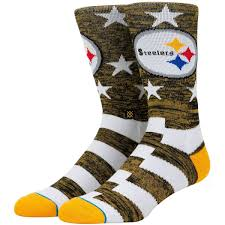 Stance Steelers Banners NFL Men's Socks (Used Like New / Last Call Sale)