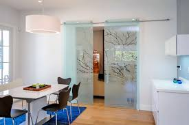 Casali Glass Doors Modern Dining Room