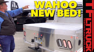 You Gotta See Mr. Truck's New Aluminum CM Truck Bed (Installation ...