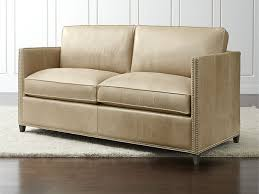 Crate And Barrel Petrie Sofa by Living Room Crate And Barrel Leather Sofa Living Rooms