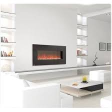 Napoleon EFL48 Linear Wall Mounted Electric Fireplace with Heater