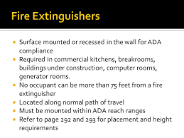 Fire Extinguisher Mounting Height Requirements by Fire And Smoke Resistant Assemblies U2013 Passive Systems Ppt Download