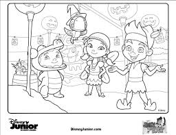 Coloring Page Disney Jr Pages To Print On Color Widescreen