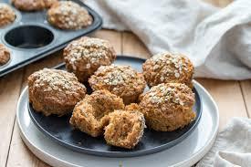 frühstücks muffins mit apfel und karotten rezept republic