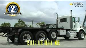 100 Rolloff Truck For Sale Kenworth T800 Triaxle Roll Off YouTube