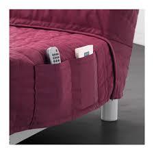 beddinge lövås three seat sofa bed knisa cerise ikea