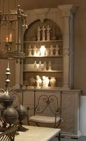 casa padrino luxus landhausstil schrank hellgrau handgefertigter massivholz regalschrank wohnzimmerschrank esszimmerschrank landhausstil möbel