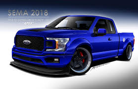 100 Ford Truck Concept F150 Pickups Swarm The 2018 SEMA Show The Fast Lane
